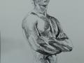 Black & white male nude